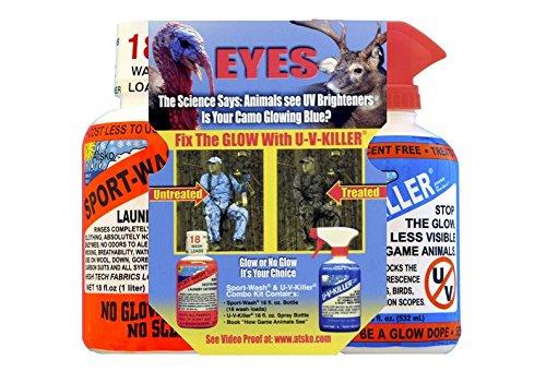 Atsko UV Killer/Sport Wash Combo Hunting Supplies