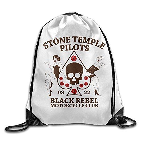 Stone Temple Pilots Plush Creep Drawstring Backpack Sack Bag