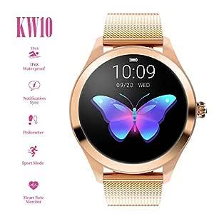 Smartwatch, Reloj Inteligente para Mujeres Bluetooth IP68 ...