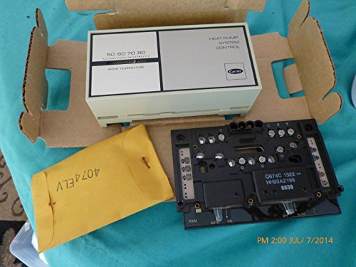 Carrier Thermostat Heat Pump System Control