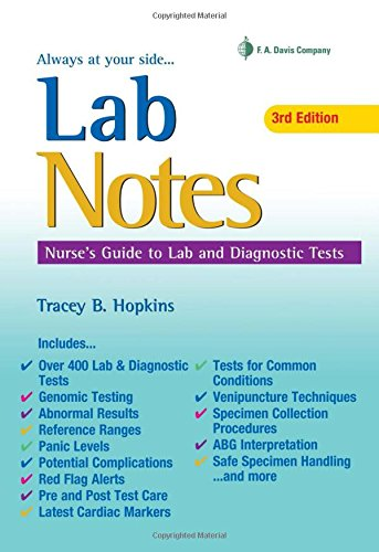 LabNotes: Nurses' Guide to Lab & Diagnostic Tests (Book Diagnostic Lab)