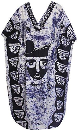 Batik Caftan Dress - 8