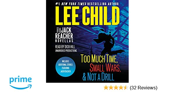 lee child small wars audiobook