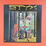 STYX Grand Illusion SP 4637 LP Vinyl VG++ Cover VG++ Poster Sleeve