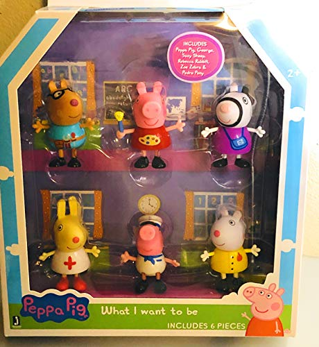 George Pig Dress Up (Peppa Pig What I Want to Be 6 Figure Exclusive)