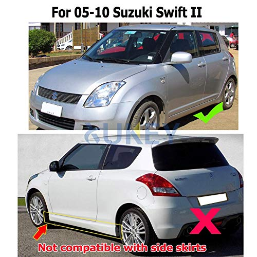 Mudguards Car Mud Flaps for Suzuki Swift 2 II 2005-2010 Mudflaps Splash Guards Mud Flap Mudguards Fender 2006 2007 2008 2009