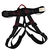 MagiDeal Safety Fire Rescue Tree Carving Rock Climbing Tree Surgeon Harness Seat Sit Bust Belt Rappelling Downhill Fall Arrest Gear Equipment