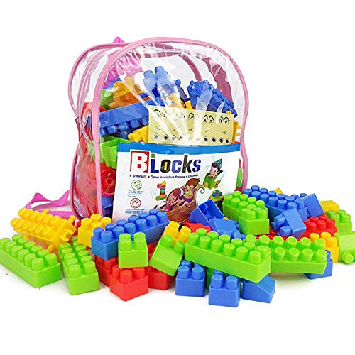 Little Classmate Baby Puzzle Early Education Assembling Spell Inserting Bag Bag Assembly Toy Children Large Particles Disassembly Plastic Building Blocks
