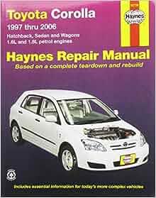 2007 toyota corolla repair manual