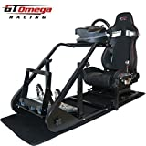 GT Omega ART Racing Simulator Cockpit RS9 Seat Suitable for the Thrustmaster T500RS TH8A TH8RS