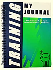 Strong Is My Beautiful Workout and Fitness Journal | Planner and Tracker for Men and Women | Workout Planner a