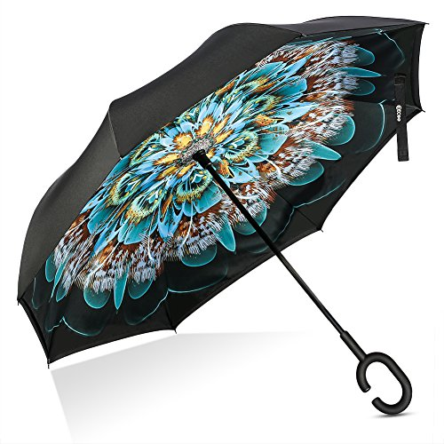 Inverted Windproof Protection Reverse Umbrellas