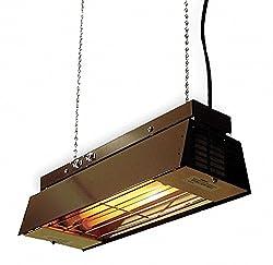 Fostoria Electric Infrared Heater, Indoor, Ceiling/Suspended, Voltage 120, Watts 900/450