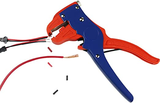 New Automatic Wire Stripper Crimper Pliers For Cable Cut Cutter Red Steel Tool