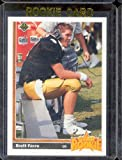 1991 Upper Deck # 13 Brett Favre (RC) - Green Bay Packers - Rookie Football Card- Shipped In Protective Display Case!