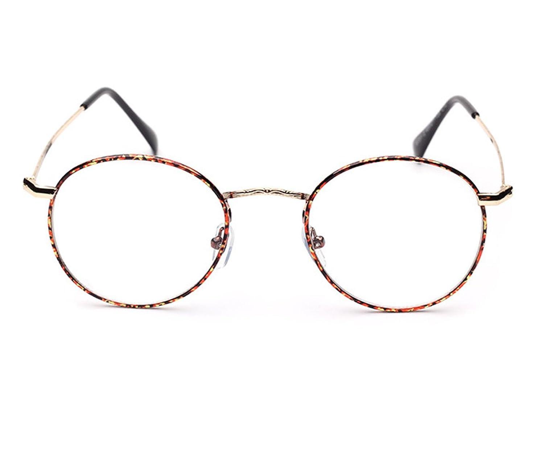 Sunbo サンーブ 伊達メガネ 丸 めがね レディース メンズ メガネフレーム おしゃれ ケース付き 小さい丸の画像