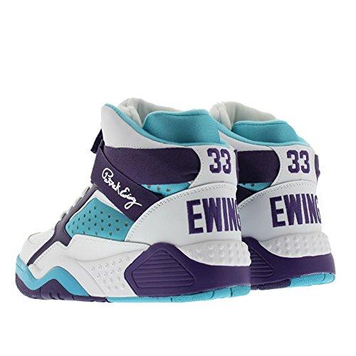 Patrick Ewing Atletiek Ewing Focus Heren Basketbalschoenen Wit Paars