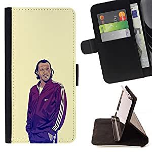 Momo Phone Case / Flip Funda de Cuero Case Cover - GOT BRONN - HTC Desire 820