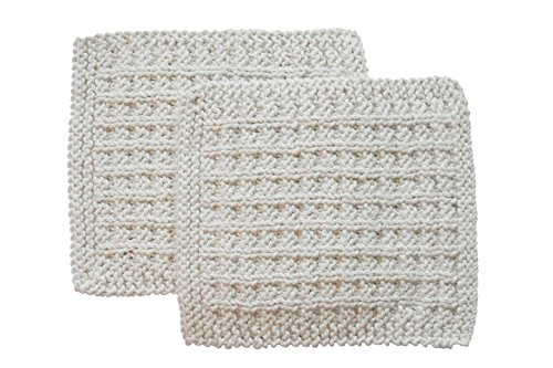 - Toockies Hand knit Exfoliating Wash Cloth for Him – 100% Certified Organic Cotton