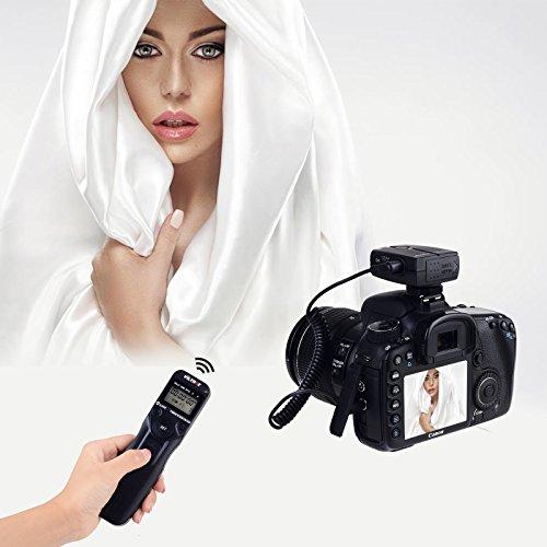 (VILTROX JY-710-N3 Wireless Camera Timer Remote Control Shutter Release Cable for Nikon D7500 D7200 D7100 D600 D610 D5600 D5300 D7000 D5500)