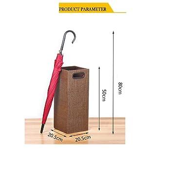 MZ Soportes de paraguas, soporte de paraguas Cuadrado Soporte de ...
