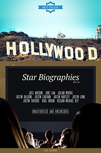 Hollywood: Actors Biographies Vol.41: (JOSS WHEDON,JUDE LAW,JULIAN MORRIS,JUSTIN BALDONI,JUSTIN CHATWIN,JUSTIN HARTLEY,JUSTIN LONG,JUSTIN THEROUX,KARL URBAN,KEEGAN-MICHAEL KEY)