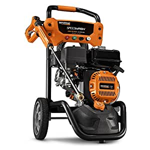 Generac SpeedWash 6882 2900 PSI 2.4 GPM 196cc Gas Powered Pressure Washer System with Attachments