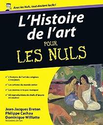 L'histoire de l'art pour les nuls par Breton