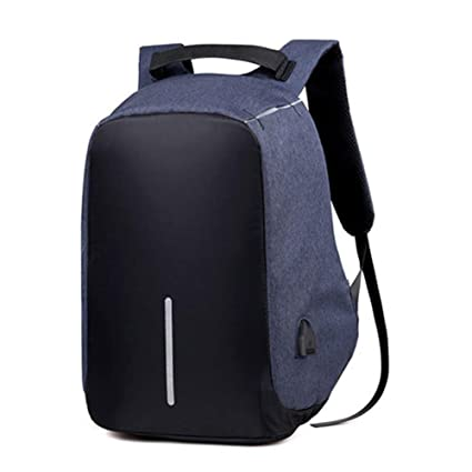 41f3bd5c62f6 Laptop Backpack,Travel Anti-theft Backpack Business Laptop Backpack College  Students Book Bag with USB Charging Port Work Men & Women (Blue/Black)