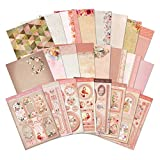 Hunkydory Rose Gold Moments Luxury Collection with 8 Topper Sets Card Kits & 2 Bonus sheets