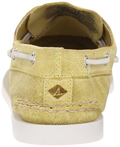 Sperry Top-Sider Womens A/O Two-Eye Boat Shoe Light Yellow