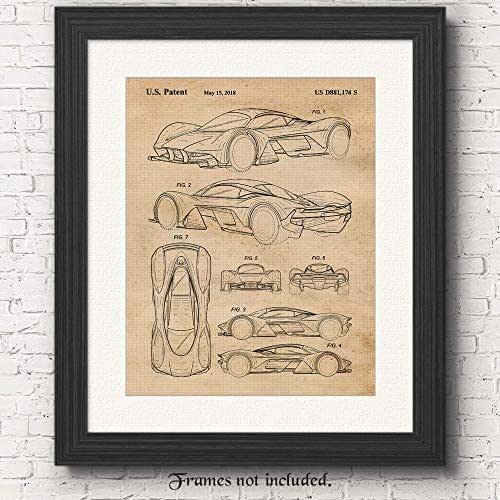 Amazon.com: Vintage Aston Martin Valkyrie Patent Poster