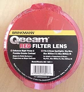 Brinkmann Q Beam Red Filter Lens
