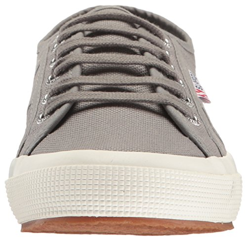 Superga Unisex 2750 Cotu Classic Fashion Sneaker, Grau, Medium Black Burnished