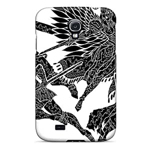 Shock-Absorbing Hard Cell-phone Cases For Samsung Galaxy S4 With Unique Design Trendy Einherjer Band Pictures JonBradica