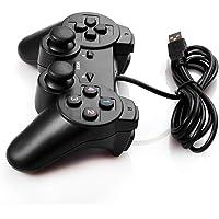 Joypad com fio USB 2.0 controle de jogo gamepad joystick para PC e laptop