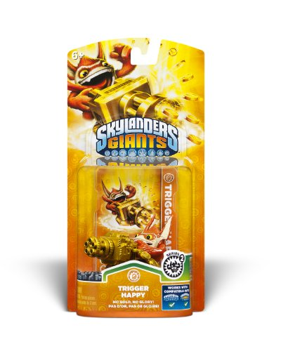 Skylanders Giants: Single Character Pack Core Series 2 Trigger (Trigger Happy Skylander)