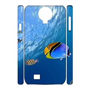 LSQDIY(R) The underwater world SamSung Galaxy S4 I9500 Custom 3D Case, High-quality SamSung Galaxy S4 I9500 3D Case The underwater world
