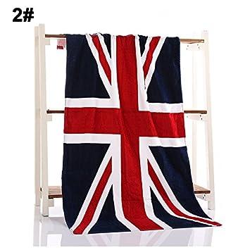 Cutogin, toallas de playa de algodón con estampado de bandera grande para adultos grandes toallas de playa, United States: Amazon.es: Deportes y aire libre