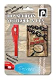 Top Secret Pocket Diary and Invisible Ink Pen - Includes UV Torch - 60 Pages
