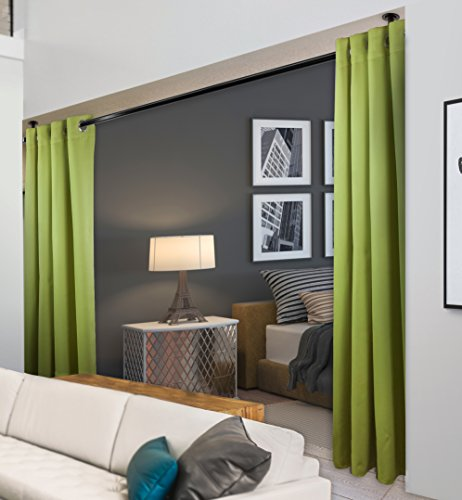 Rod Desyne Window Thermal Isulated Blackout Curtain with Metal Grommet, 120