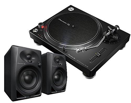 PIONEER ターンテーブル / PLX-500 ブラック + DM-40 スピーカー セット