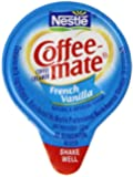 Nestle Coffee Mate Creamer 180 Single Serve Portions, French vanilla, 67.5 Ounce