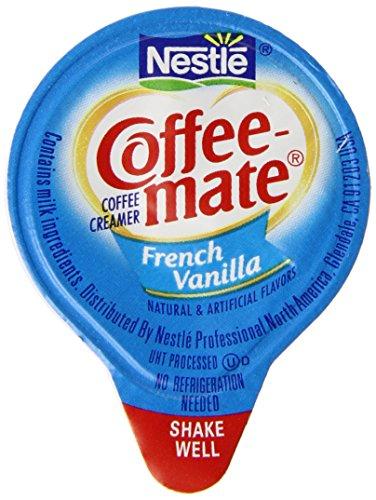 Nestle Coffee Mate Creamer 180 Single Serve Portions, French vanilla, 67.5 Ounce