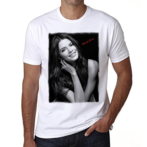 Kendall Jenner 1 Mens T Shirt Celebrity Star One In The City   White  Xxxl