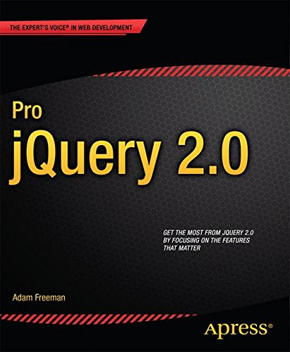 Pro jQuery 2.0 (Expert's Voice in Web Development)