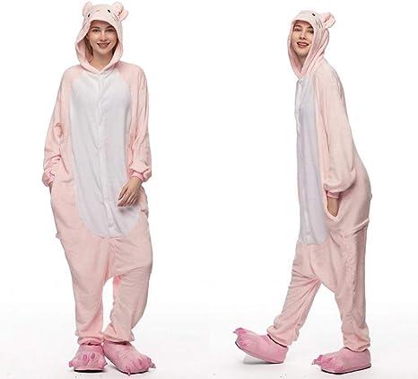 DHLFHRTISH Pijama Unicornio Azul de Invierno Conjuntos de ...
