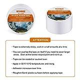 Kohree RV Sealant Tape, 4 Inch x 50 Foot RV White