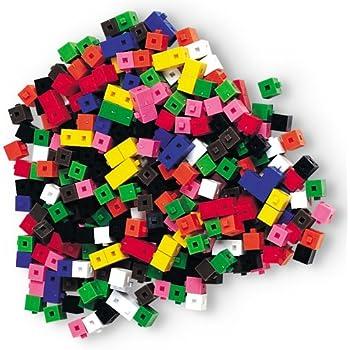 Learning Resources Interlocking Gram Unit Cubes, Set of 1,000
