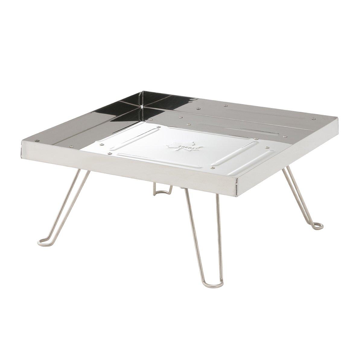 ロゴス アウトドア バーベキューテーブル 「ダッチオーブンが使える」 直火ステンテーブル 81064110 B01NCXG6TF
